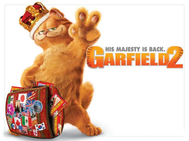 Garfield 2 Poster Wallpaper 800x600