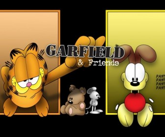 Garfield And Friends Wallpaper