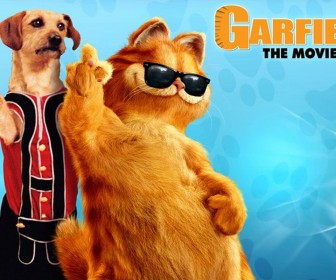 Garfield And Odie Movie Poster Wallpaper