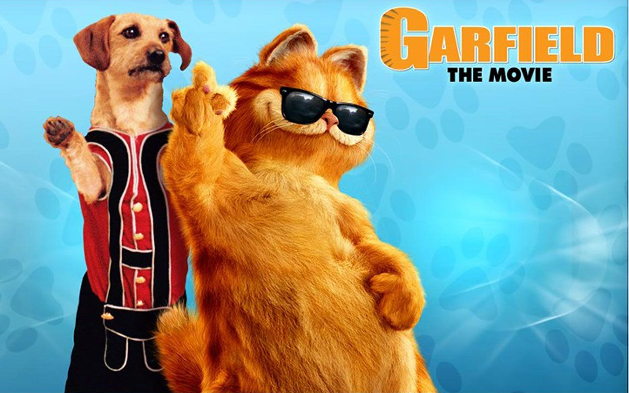 Garfield And Odie Movie Poster Wallpaper 1280x800