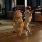 Garfield Dancing With Dog Wallpaper