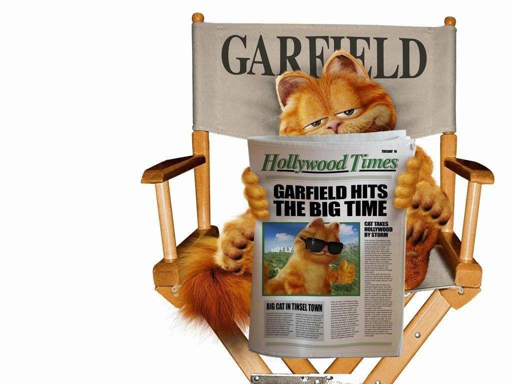 Garfield Directors Chair Wallpaper 1024x768