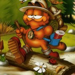 Garfield Explorer Wallpaper