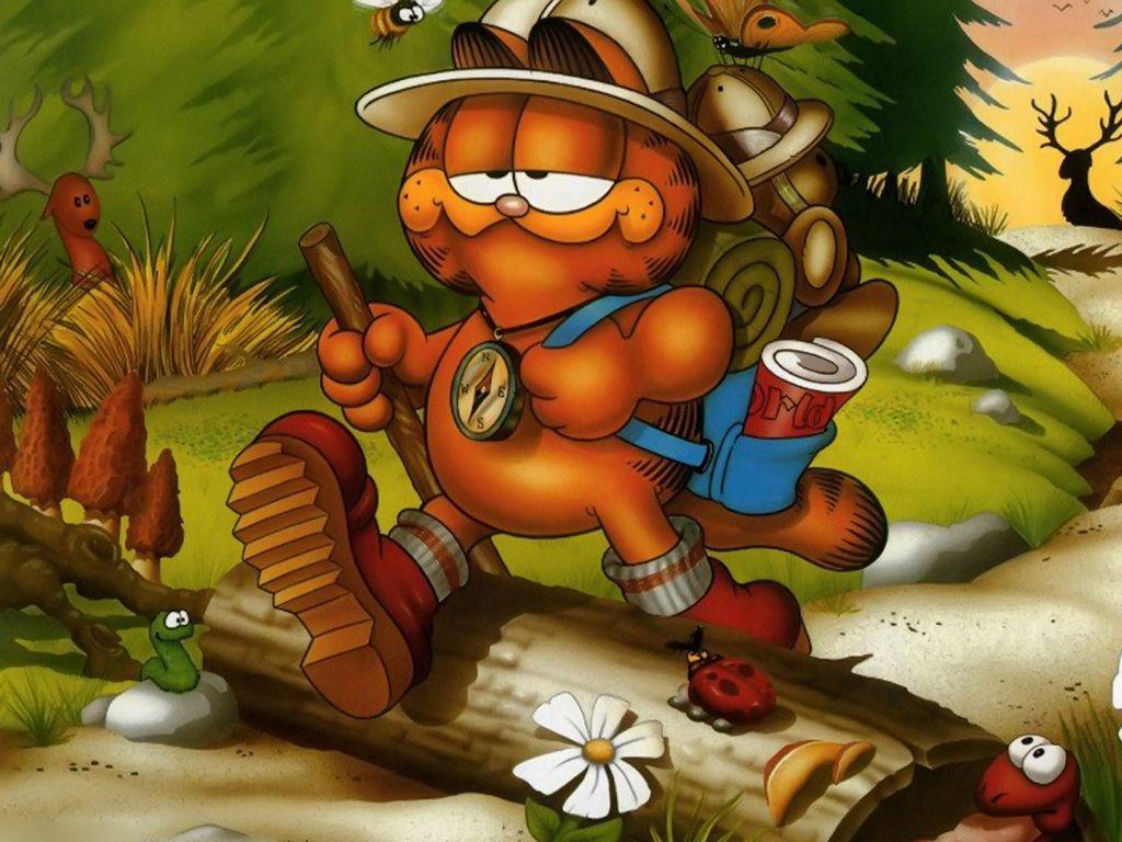 Garfield Explorer Wallpaper 1024x768