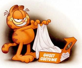 Garfield Ghost Costume Wallpaper