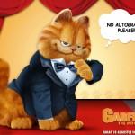 Garfield In Tux Movie Poster Wallpaper