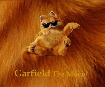 Garfield The Movie Shades Portrait Wallpaper